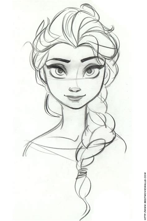 doodle sketch frozen frozen just sketched a copy of this i m impressed with