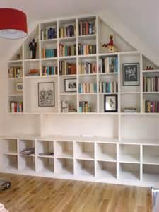 wall of fitted shelves richard sothcott brighton carpentry
