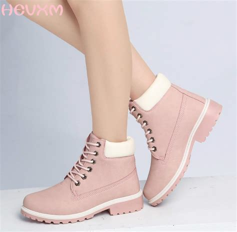 comfortable platform boots hevxm 2017 top quality comfortable women boots leather