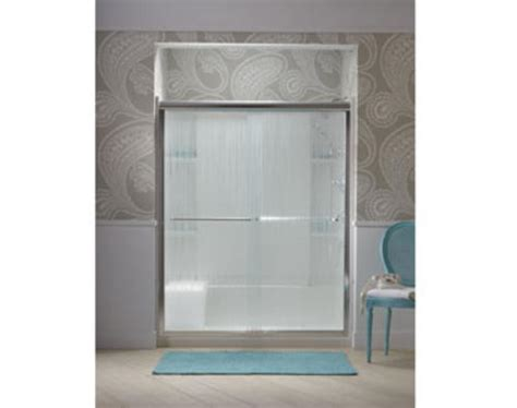 Sterling Finesse Frameless By Pass Shower Door At Menards 174 Sterling Finesse Shower Doors