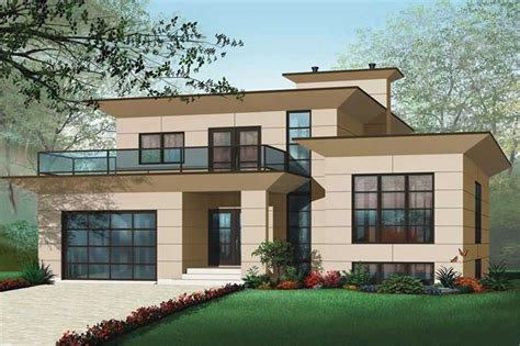 Inlaw Suites by 4 Bedrm 3198 Sq Ft Contemporary House Plan 126 1012