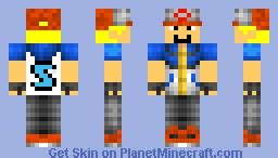 Minecraft Papercraft Iballisticsquid - iballisticsquid pixelmon trainer minecraft skin