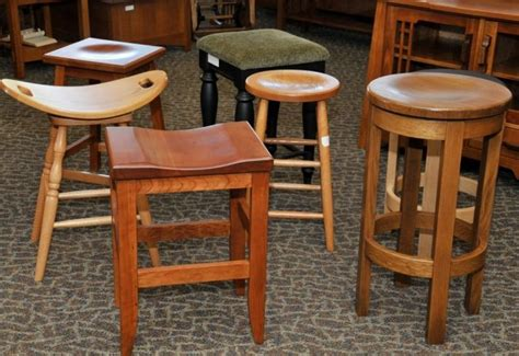 Wood Connection Furniture by Barstools 190 The Amish Connection Solid Wood