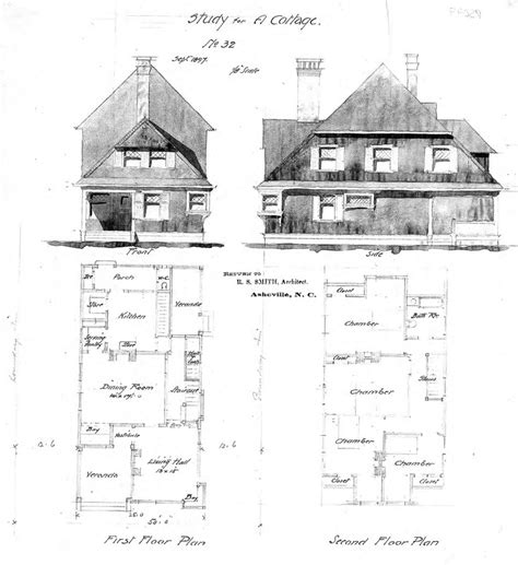 Swiss Chalet Floor Plans by Study For A Cottage No 32 Front Side Elevations