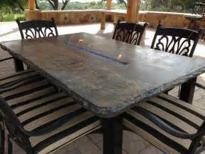 patio furniture with pit table concrete jungle patio furniture tables