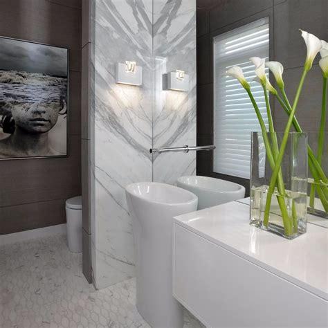 Bathroom: Bianco Carrara Mosaics   Marble Trend   Marble