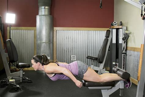 bench glute raises natural glute ham raise exercise guide and video