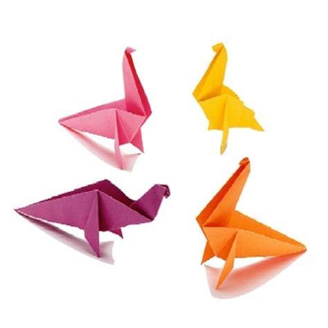 prehistoric paper folding origami dinosaurs pix o plenty