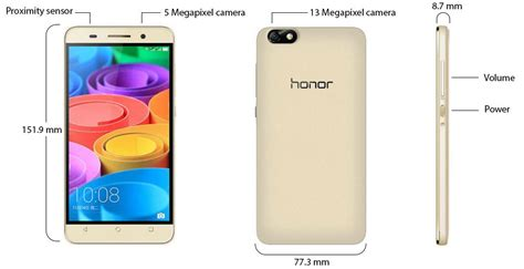 Hp Huawei Honor 4x Gold huawei honor 4x dual sim 8gb 4g gold price review