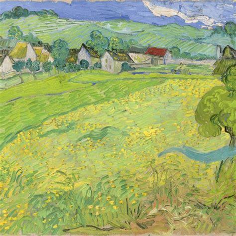 imagenes artisticas de vincent van gogh paisaje al atardecer gogh vincent van museo thyssen