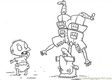 rugrats halloween coloring pages rugrats coloring pages online freecoloring4u com