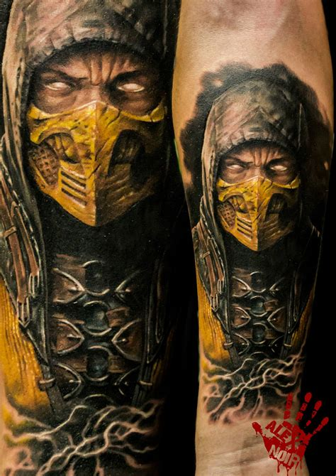 mortal kombat tattoo designs scorpion mortal kombat how could i