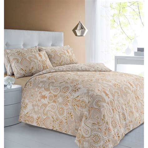 Duvet Covers Next by Metallic Paisley King Size Duvet Set Bedding Duvet