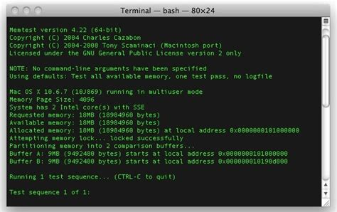 test ram mac memtest for mac os x tests your ram