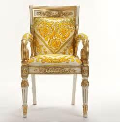 the luxurious versace vanitas chair