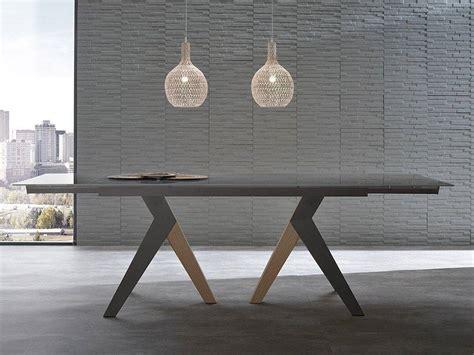 tavolo da pranzo vetro tavolo allungabile in vetro light