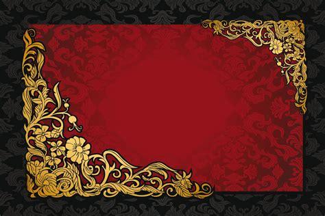 pattern vintage red red dark golden vintage pattern gradient vector texture
