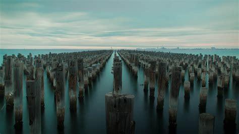 pier port melbourne princes pier port melbourne victoria australia