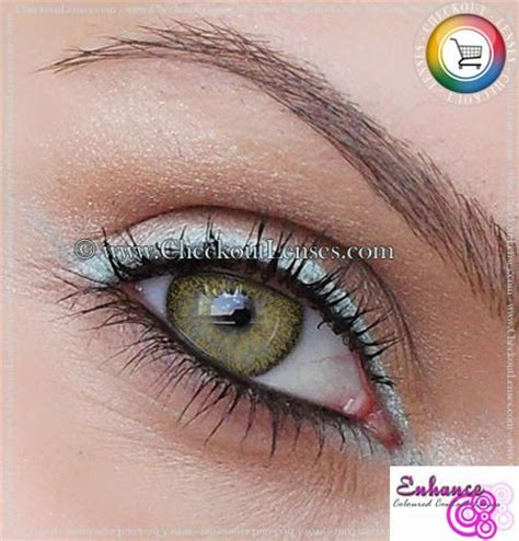eye color enhancer 25 best color contacts images on coloured