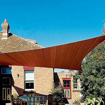 coolaroo shade sails terracotta triangle ft