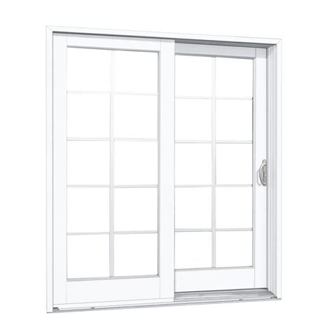 Sliding Patio Doors Home Depot Masterpiece 60 In X 80 In Composite Right Dp50 Sliding Patio Door G50rdp50 The Home Depot