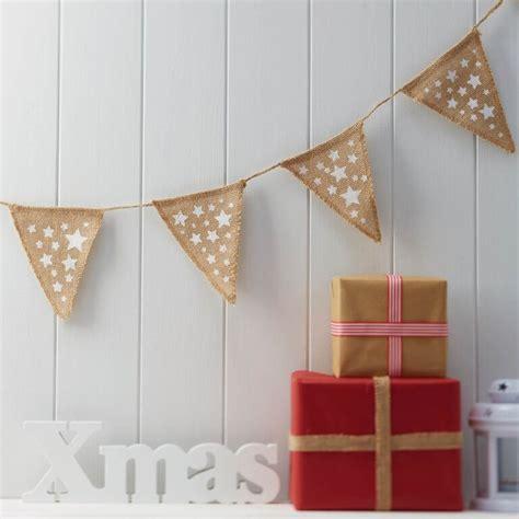 Home Made Christmas Decorations by Comprar Bander 237 N Yute Navidad Estrellas Online Al Mejor