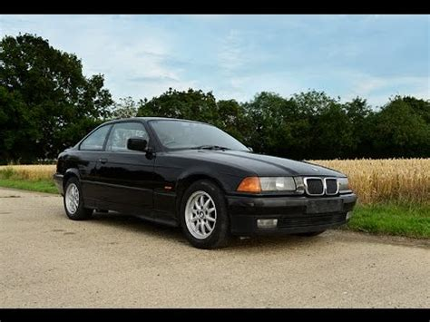 1997 bmw e36 318is 318 coupe black review