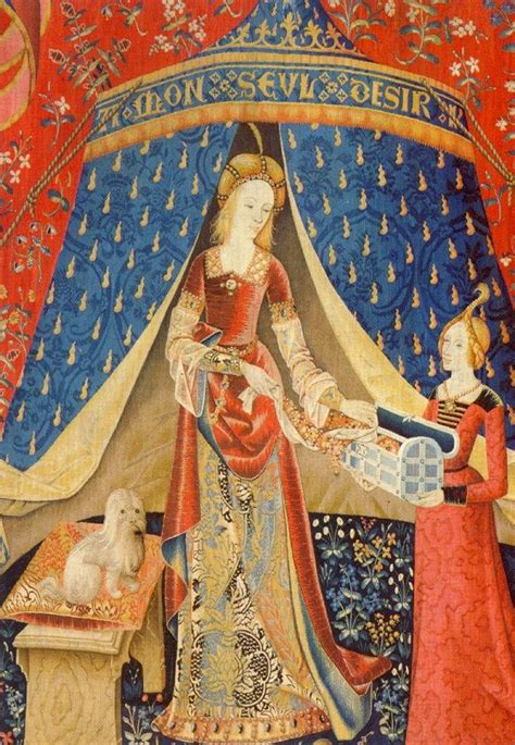 Tapisserie Licorne by La Dame 224 La Licorne The And The Unicorn Tapestries