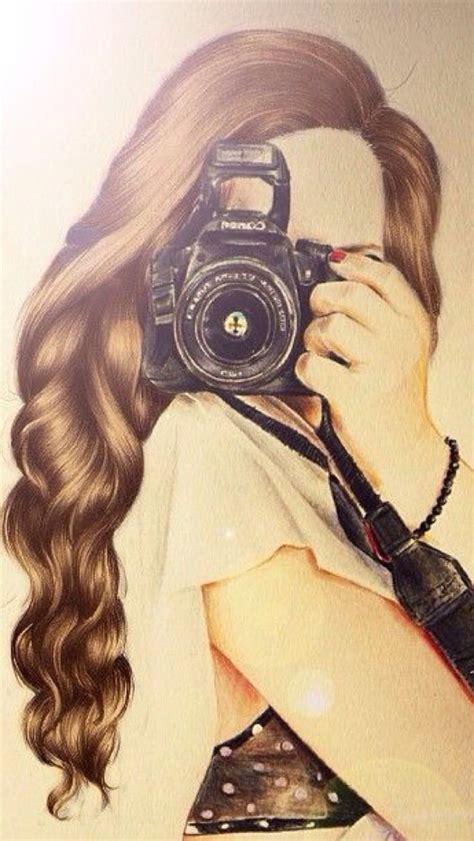 wallpaper camera girl girl with camera wallpaper fondos pinterest camera