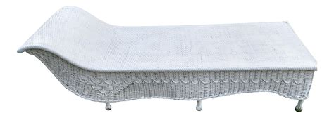 wicker fainting couch vintage wicker fainting couch chairish