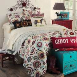 western girls bedding serena quilted western bed set from rods com stylish