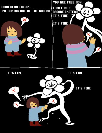 Funny Undertale Memes - flowey no undertale know your meme