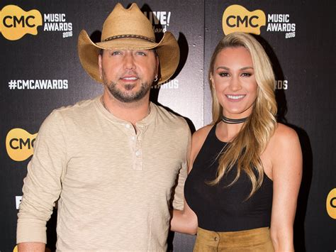 jason aldean wife bing images jason aldean gets a big surprise from wife brittany on
