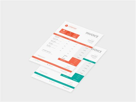 invoice design psd free download download business invoice template psd rabitah net