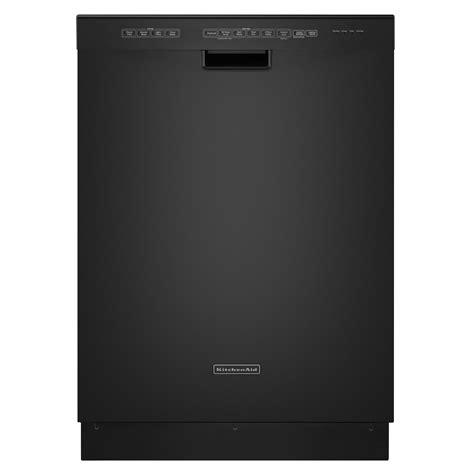 kitchenaid dishwasher kitchenaid kuds30ixbl superba 24 quot built in dishwasher black