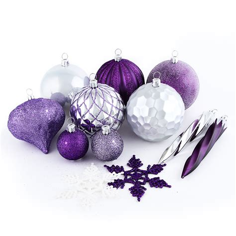 jaclyn smith 50ct shatterproof christmas ornaments with