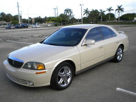 Suntan Ls by Purchase Used 2002 Lincoln Ls V8 Pearl Metallic