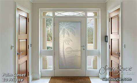 Front Doors Gold Coast House With Oceanic Etched Glass Doors Sans Soucie