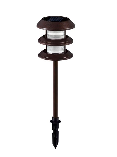 Solar Patio Lights Home Depot Hton Bay Outdoor Bronze Hton Bay Outdoor Solar Lights