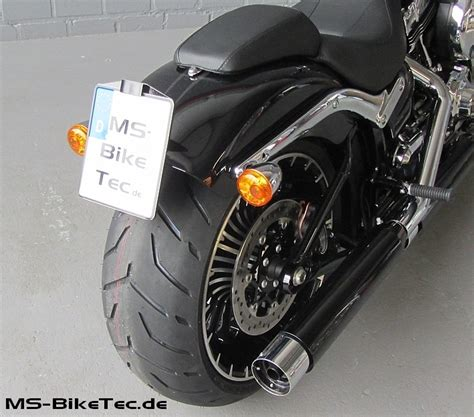 Kennzeichenhalter Motorrad Harley by Kennzeichenhalter Quot Back Up Iii Quot F 252 R Softail Modelle