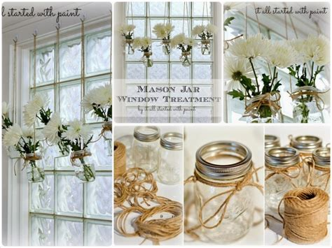 floreros con frascos de vidrio 161 tendencia floreros colgantes confeccionados con frascos
