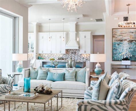 beach home interiors florida beach house with turquoise interiors home bunch