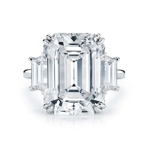 the ultimate emerald cut engagement rings the jewellery