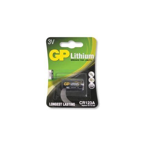 Baterai Cr123 bateria gp cr123 lithium 3v compre j 225