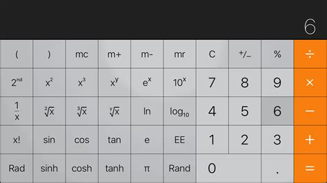 calculator exponential the best calculator app the sweet setup