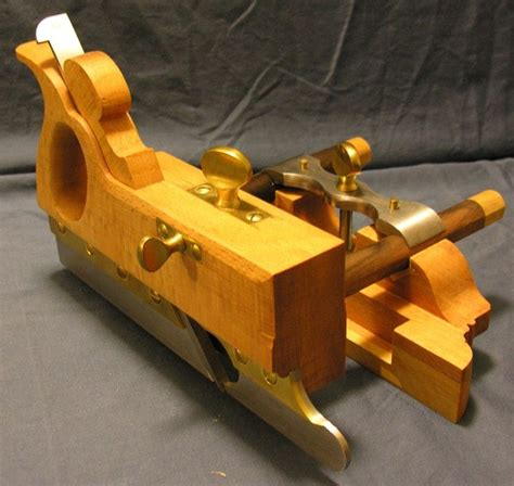 kyles mathieson plough plane woodworking hand tools