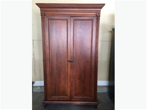 solid cherry armoire large solid cherry wood armoire cobble hill cowichan