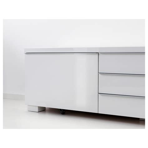 besta burs tv bench best 197 burs tv bench high gloss white 180x41 cm ikea