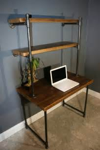 Small Desk Shelving Unit Items Similar To Shelving Unit Computer Desk