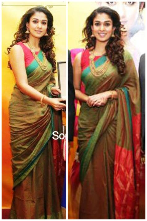 nayanthara boat neck blouse designs nayanthara at a grt jewellers event in dubai wearing a